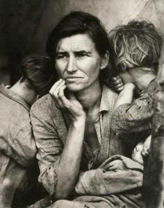 Foto de Dorothea Lange 1936